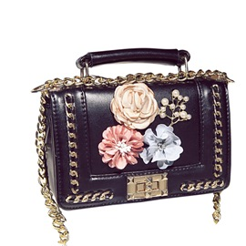 Ericdress Floral Adornment Women Crossbody Bag
