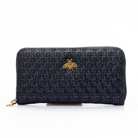 Ericdress Long Type PU Zipper Women Wallet
