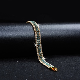 Ericdress Rome Rhinestone Fully-Jewelled Bracelet for Women