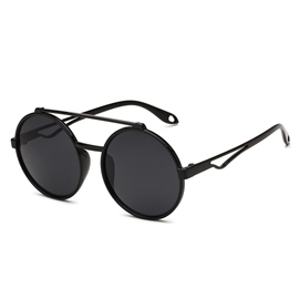 Ericdress Vintage Round Frame Sunglass for Women