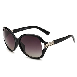 Ericdress Hollow Out Polarized Sunglass