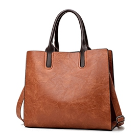 Ericdress Casual Plain PU Handbag