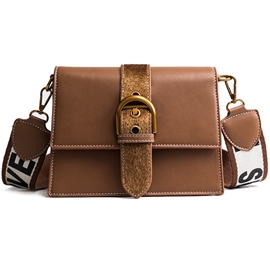 Ericdress Fashion Belt Decorated Crossbody Bag