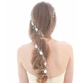 Ericdress Fabulous Imitation Pearl Long Wedding Hair Accessories