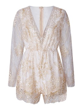 Ericdress Loose Sequins Women's Playsuit