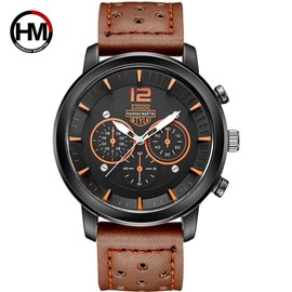 Ericdress JYY Three-Dimensional Design Small Dial Men's Watch