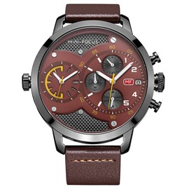 Ericdress JYY Soild Steel Buckle Colorful Dial Watch for Men