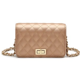 Ericdress Quilted Lining Chain Crossbody Bag