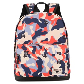 Ericdress Camouflage Nylon Children Backpack