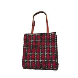 Ericdress Plaid Pattern Shoulder Bag