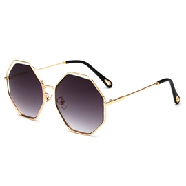 Ericdress Irregular Big Frame Sunglass for Women