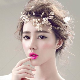 Ericdress Fabulous Golden Leaves Bridal Hair Accessories for Wedding