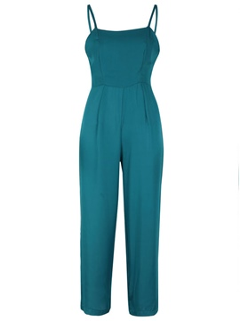 Ericdress Wide Leg Slim Women's Jumpsuit