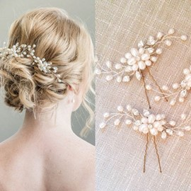 Ericdress Wedding Bride Hair Flowers