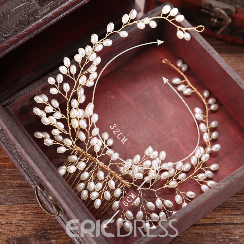 Ericdress Imitation Pearl Bridal Hair Accessories for Wedding