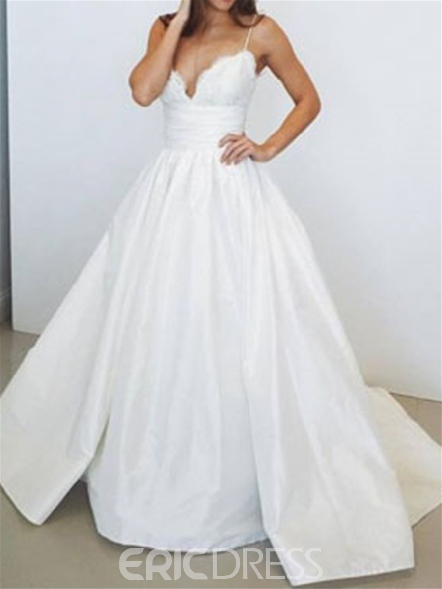 Ericdress Liques Taffeta Ball Gown Wedding Dress