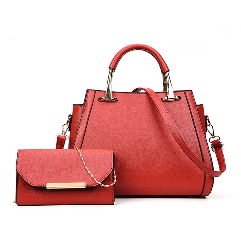 Ericdress Korean Style Plain Soft PU Handbag