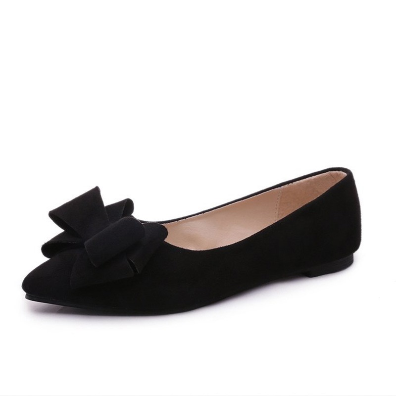 Ericdress Bowknot Decorated Low-Cut Plain Women's Flats