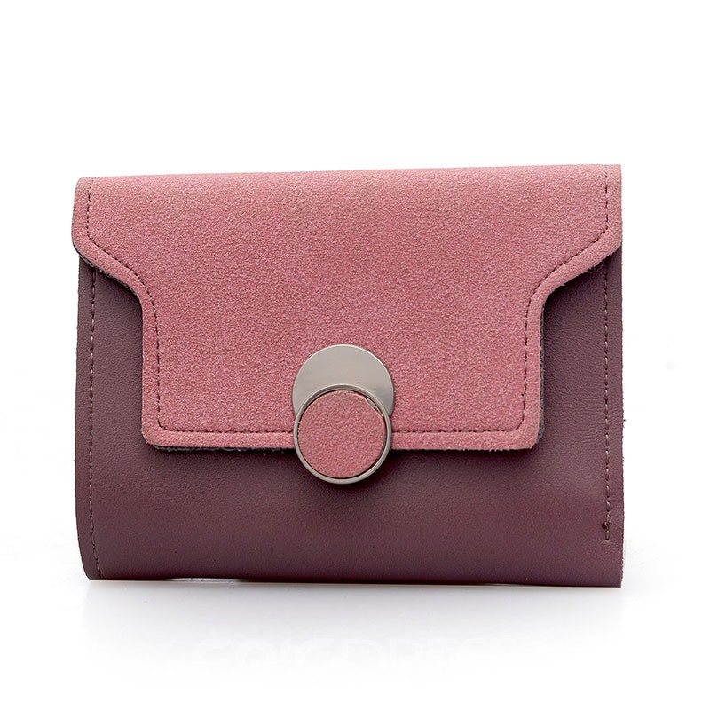 Ericdress Casual Color Block Women Wallet