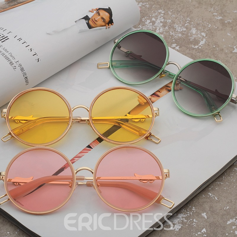 Ericdress Polarized Round Sunglasses