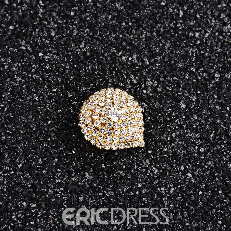 Ericdress 18K Gold Plating Fully-Jewelled Women's Ring