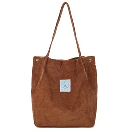 Ericdress Plain Corduroy Women Shoulder Bag