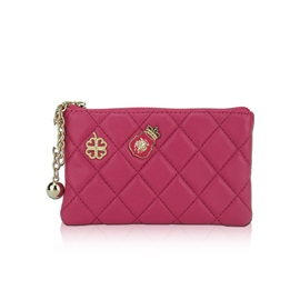 Ericdress Quilted Lining Zipper Wallet
