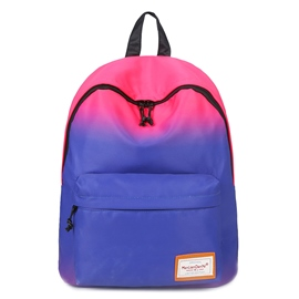 Ericdress Trendy Gradient Color Unisex Backpack