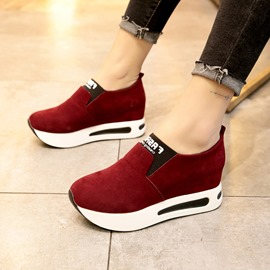 Ericdress Round Toe Plain Low-Cut Women's Sneakers