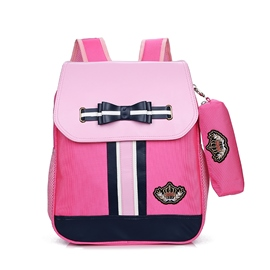 Ericdress Color Block Oxford Backpack