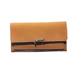 Ericdress Long Type Plain PU Wallet