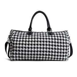 Ericdress Plaid Zipper Women Handbag