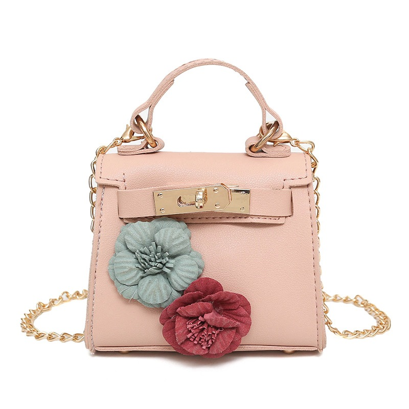 Ericdress Floral Decoration Chain Crossbody Bag