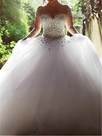 Ericdress Luxury Sweetheart Beading Ball Gown Wedding Dress