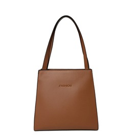 Ericdress Plain Soft PU Shoulder Bag