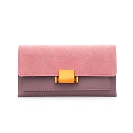 Ericdress Plain Latch Decoration Women Wallet