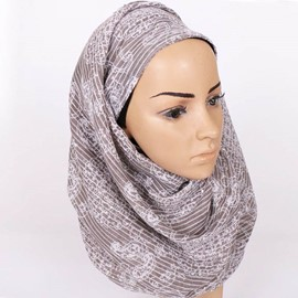 Ericdress Hot National Style Voile Headscarf