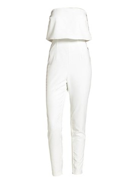 Ericdress Off White Women's Jumpsuit