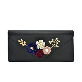 Ericdress Floral Decoration Women Wallet