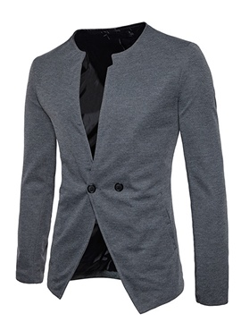 Ericdress V-Neck Fit Casual Men's Blazer