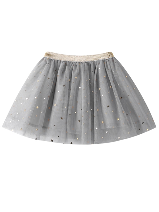 Ericdress Sequins Mesh Girls' Mini Skirt