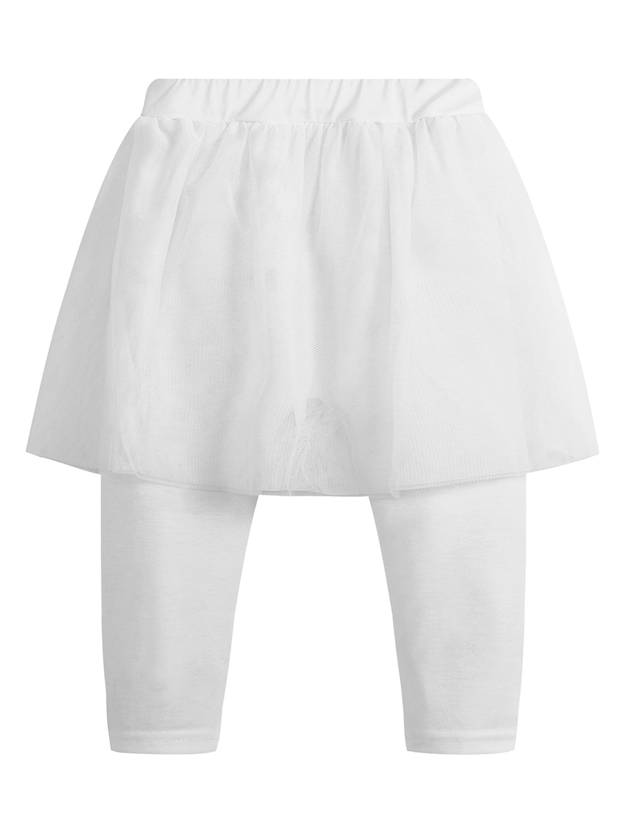 Ericdress Plain with Skirt Girls' Leggings