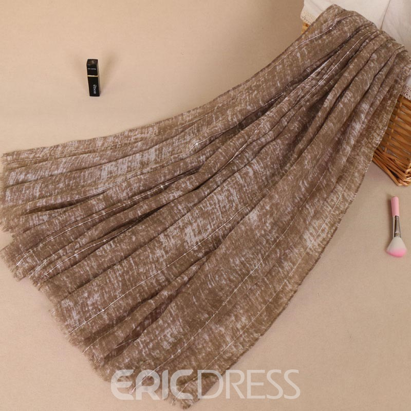 Ericdress Cozy Solid Color Graceful Scarf for Women