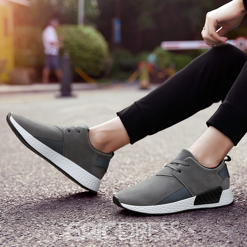 Ericdress Comfy Low-Cut Plain Patchwork Men's Athletic Shoes