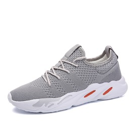 Ericdress Mesh Lace-Up Round Toe Men's Athletic Shoes