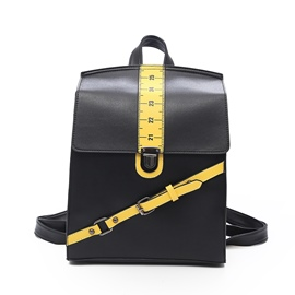Ericdress Personality Ruler Design Women Backpack
