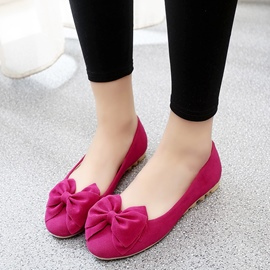 Ericdress Plain Bowknot Decorated Slip-On Women's Flats