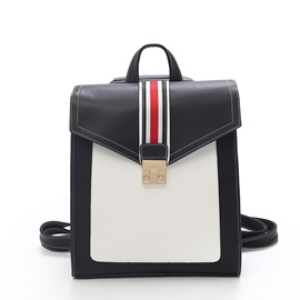 Ericdress Preppy Chic Stripe Women Backpack
