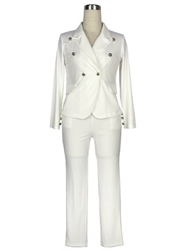 Ericdress Jacket and Pants Women's Suit