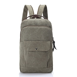 Ericdress Canvas Zipper Men's Bag